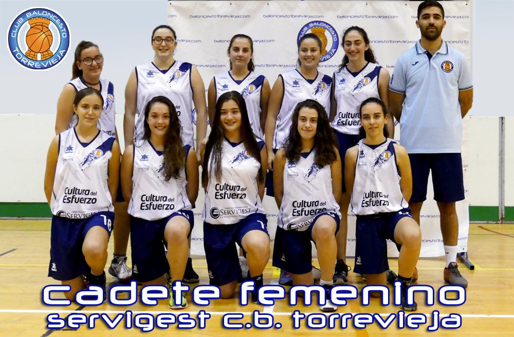 SERVIGEST C.B.Torrevieja - Cadete Femenino